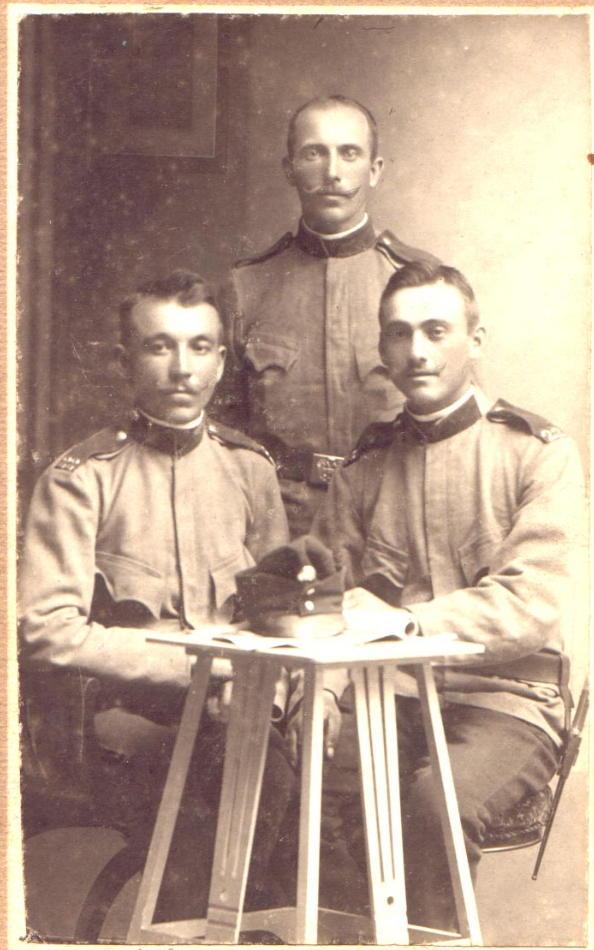 Czernowitz Landwehr Soldiers
